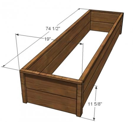 how to build a garden box step by step