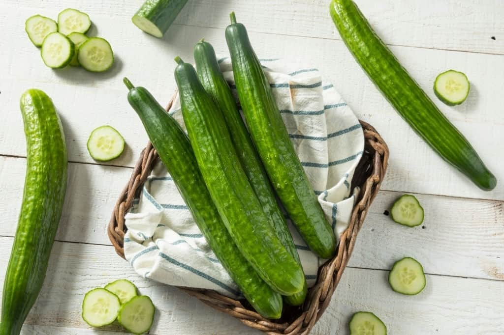 why are english cucumbers wrapped in plastic
